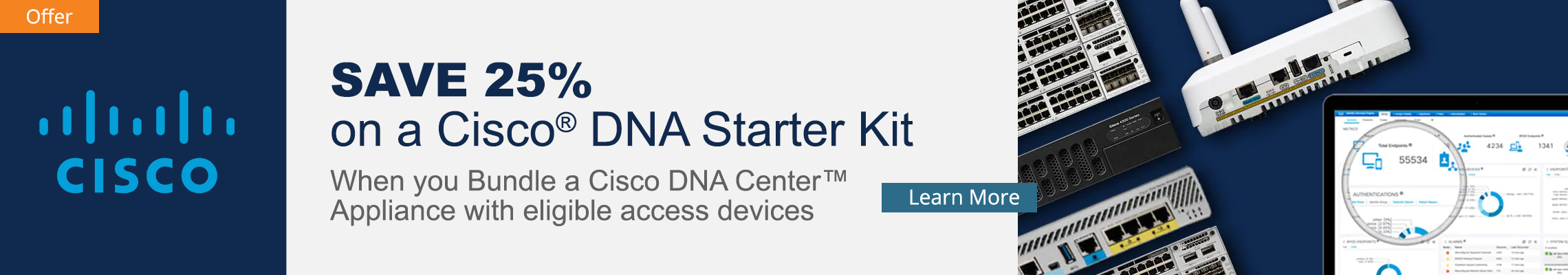 Cisco DNA Kit Promo Home Banner