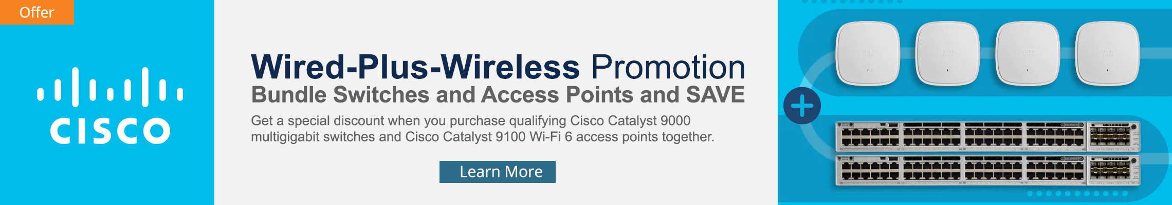 Cisco Wired+Wireless Home Banner